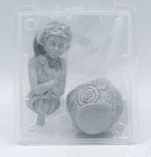 Female Elf Child Fantasy Dragon Masters Bust Ouroboros Miniatures DM03 Cyara