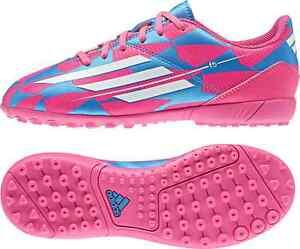 ajuste clásico tienda de descuento calzado Detalles de Adidas F5 Tf Niños Multitacos Zapatos de Fútbol M25050