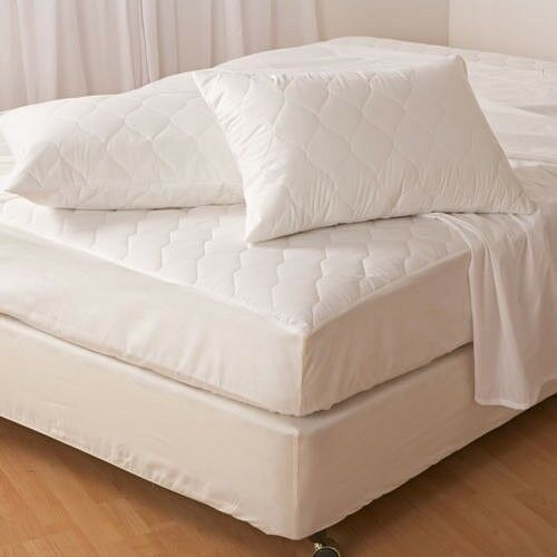 "Bunk Bed Fitted Quilted Mattress Protector 2ft 6/"" Single Waterproof ~ ONLY £6.99"