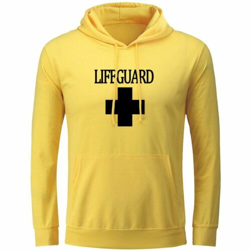 Lifeguard Graphic Design Unisex Hoodie Sweatshirt Pullover Hooded Top Hoody New