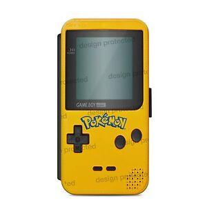 Pokemon-Game-Boy-Colour-Atari-80-Wallet-Flip-phone-Case-Cover-iPhone-amp-Samsung