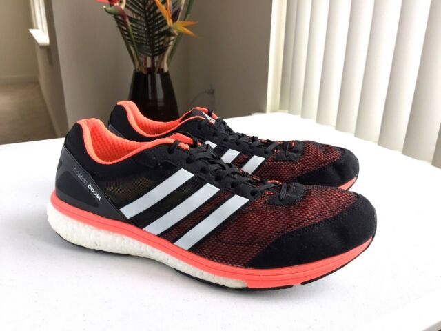 52ff0b1c5b139 Men s adidas Adizero Boston Boost 5 Running Shoes Sz 12.5 US
