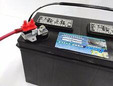 HD 50 amp 12 & 24 Volt Boat Trolling Motor Circuit Breaker Kit w/ Bracket Cover