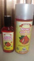 Shampoo And Oil Mamey Seed Oil (pack Of 2) Aceite De Hueso Mamey Plantimex All H
