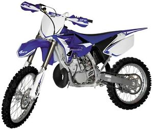 Image Is Loading Blue OE UFO Restyle Plastic Kit Fenders Yamaha