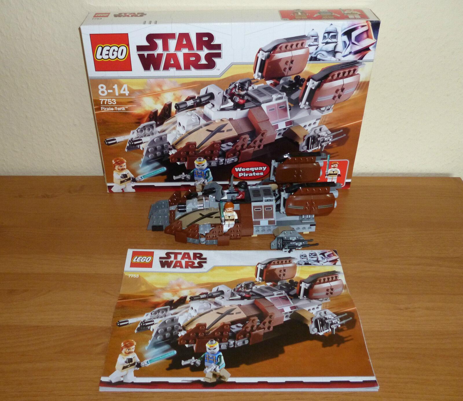 LEGO STAR WARS # 7753 Pirate Tank, complèteHommes t t t dans neuf dans sa boîte 1deb85