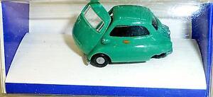 BMW-Isetta-Vert-Reseda-imu-Modele-Europeen-H0-1-87-Emballage-GB-5-A