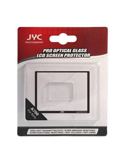 JYC a700 Sony Alpha 0,5mm pantalla de vidrio contra protector pantalla LCD