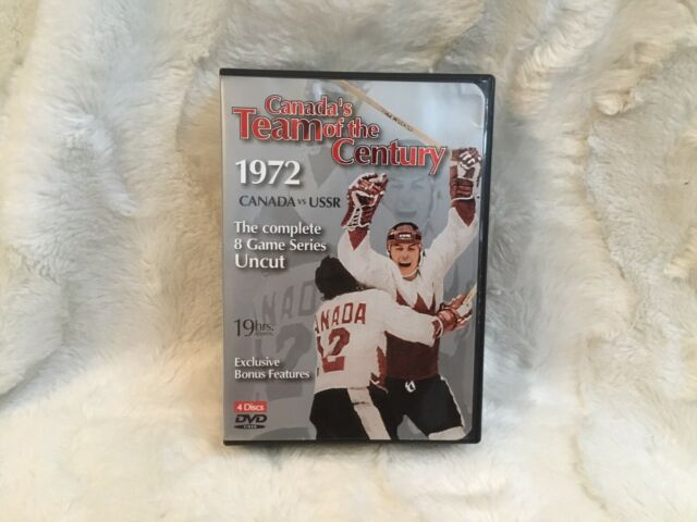 Canada's Team of the Century: 1972 vs. USSR (4-DVD Set) - Color Photo - Tested