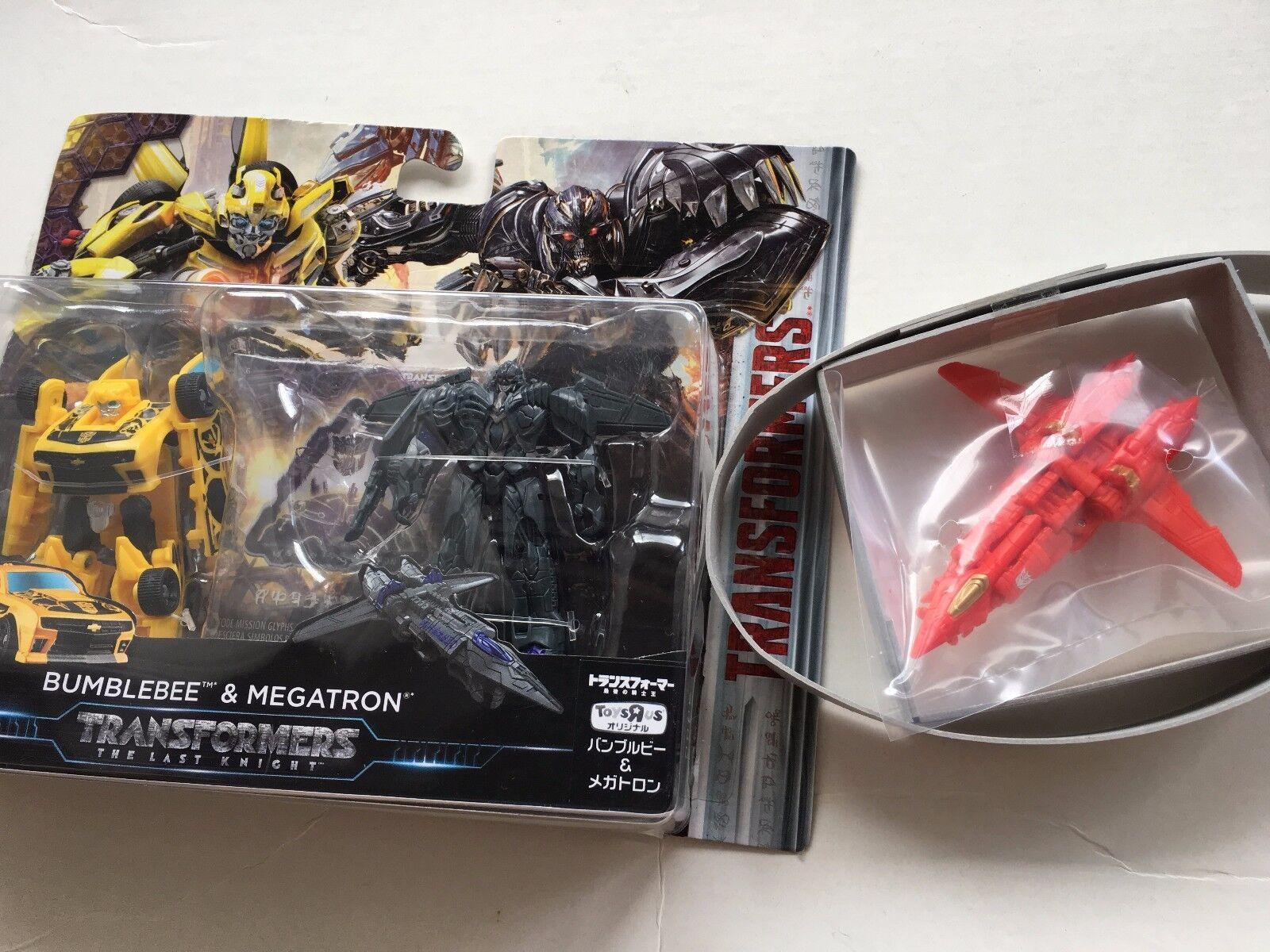 Le Japon Rare transformers Burning Megatron Limited Edition & Bumblebee & Megatron