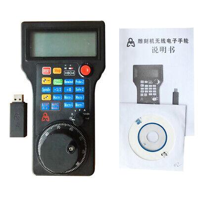 CNC Mach3 Handwheel 4 Axis USB MPG Manual Controller for CNC Engraving Machine U