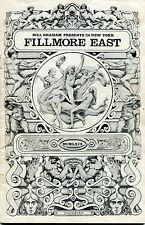 1969 Led Zeppelin Woody Herman Delaney & Bonnie concert program Fillmore East