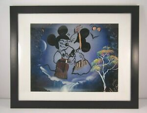 Mickey-And-Minnie-Mouse-Kissing-Original-Hand-Painted-Spray-Art-Signed-and-Dated