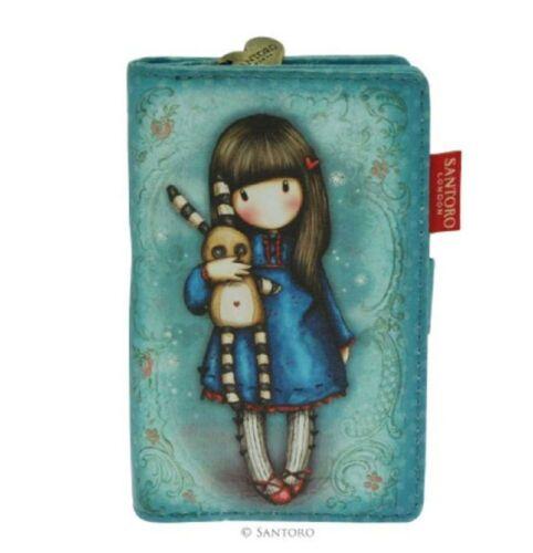 Santoro London Gorjuss Small Wallet Hush little Bunny Whimsical Girl