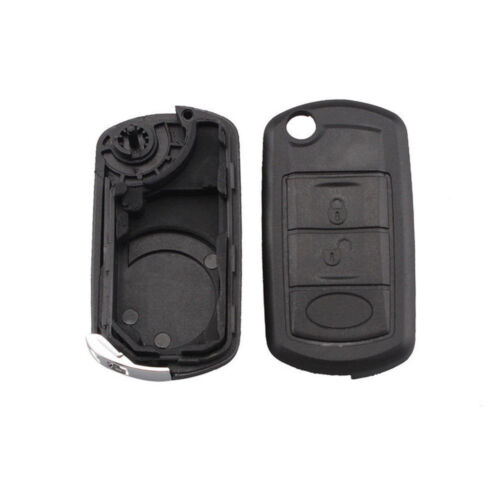 3 Buttons BTN Remote Key Fob Case For Range Rover Sport Land Rover Discovery 3