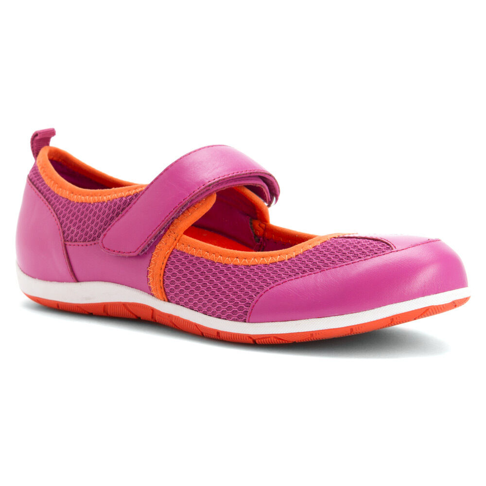 Damens Vionic Ailie Mary Jane Flat 334AILIE Berry 100% Original Brand New