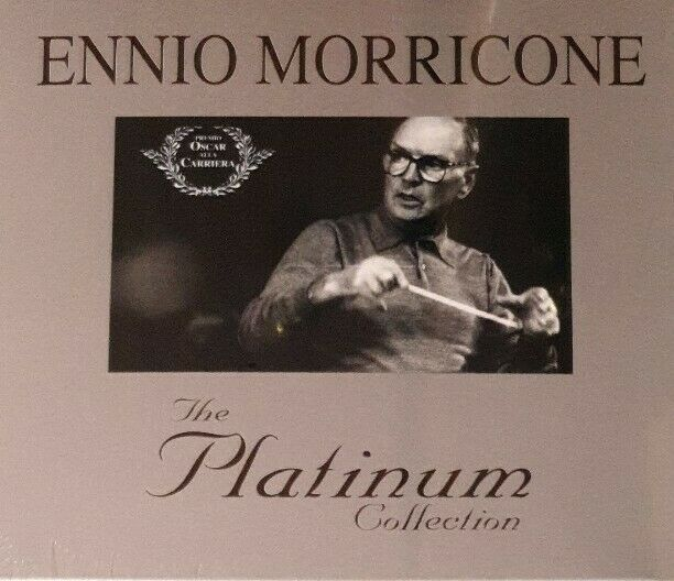 ENNIO MORRICONE - THE PLATINUM COLLECTION - 3CD NUOVO SIGILLATO