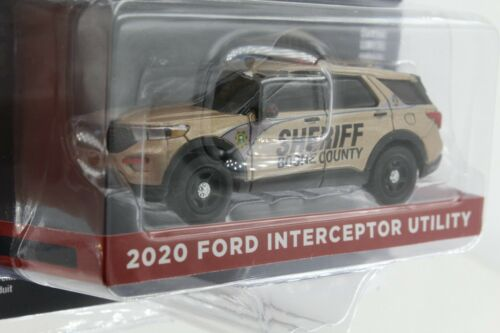 A.s.s nuevo GreenLight 1//64 Ford Interceptor utility 2020 boone County Sheriff DP
