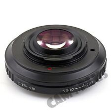 Pixco Speed Booster Focal Focus Lens Adapter Ring For Canon FD To Micro 4/3 M43