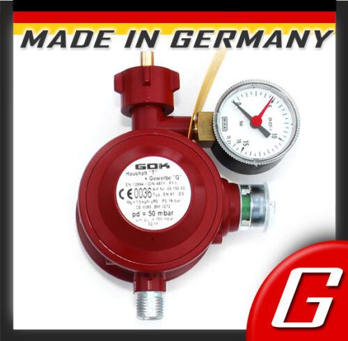 Gasregler für Innenraum Haushalt Gas Druckminderer 50mbar Niederdruckregler