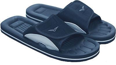 Mens resbalón en playa Bathroom Piscina Ducha Mulas Zapatos Sandalias Ojotas Eva 6-11