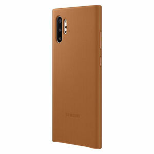 Original-Samsung-Leather-Cover-Case-Huelle-EF-VN975-Galaxy-Note-10-Plus-Camel