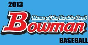 2013 Bowman Prospects | PICK YOUR PLAYER | CORREA, GALLO, BOGAERTS, FRAZIER +++