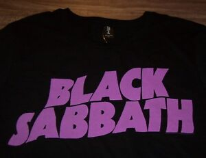 BLACK-SABBATH-Band-T-Shirt-OZZY-OSBOURNE-MENS-BLACK-LARGE-NEW