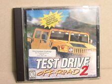 Test Drive Off-Road 2 -1998 PC Video Game -Win 95/98 HUMMER 12 Tracks 20 Trucks