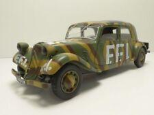 Traction FFI 1944 Citroen Solido Vert camouflage 1800902 Echelle 1//18