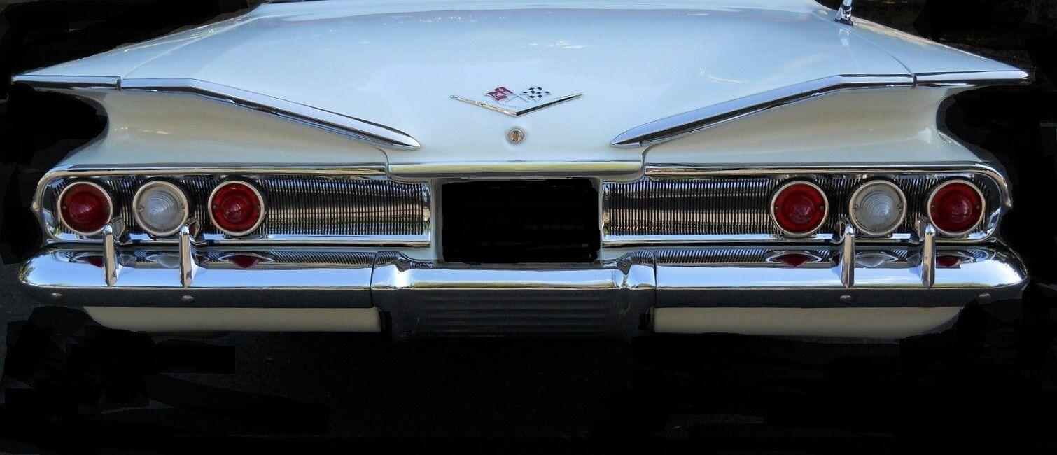 Envío 100% gratuito 1 1960 Chevy Impala Sport Coche Coche Coche Vintage 43 Chevrolet 12 Metal 24 Cocherusel blancoo 18  mejor calidad