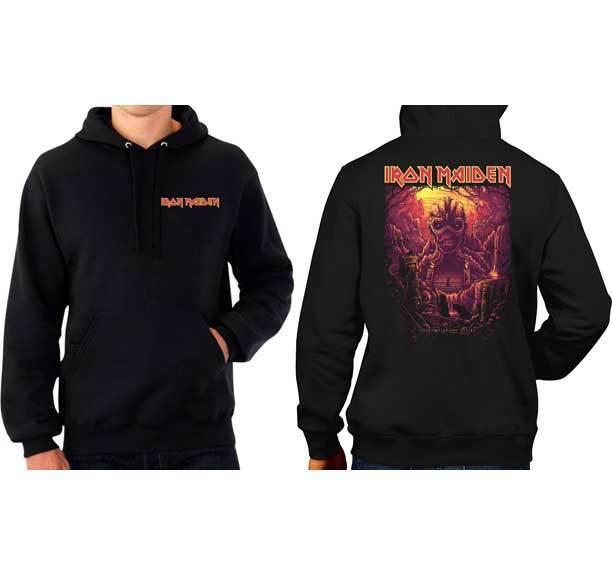 Iron Maiden Acme Shadows Of The Valley Heavy Metal Musik Band Kapuzenpulli