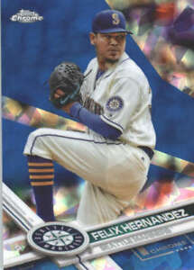 FELIX-HERNANDEZ-2017-TOPPS-CHROME-SAPPHIRE-EDITION-243-ONLY-250-MADE