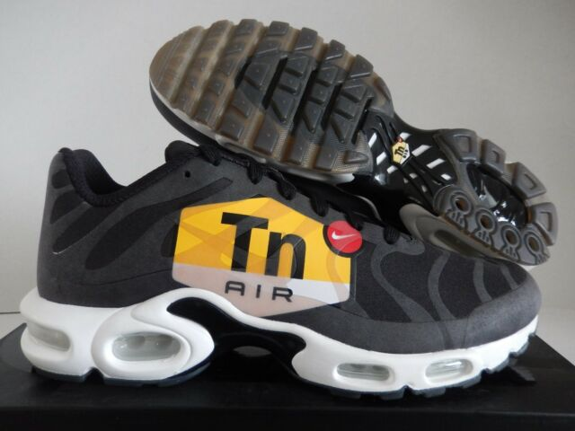 e0bc6f99809 Nike Air Max Plus TN Tuned 1 NS GPX Big Logo Black White Yellow Red ...