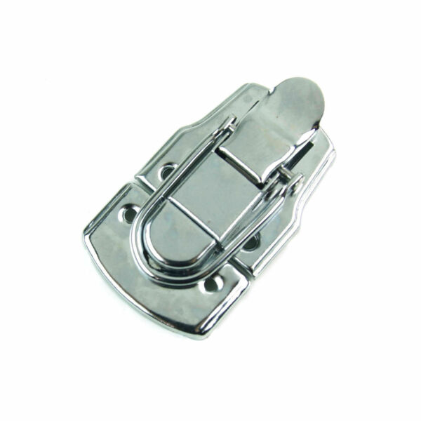 drawbolt closure latch for guitar case or musical cases 45mm chrome for sale online ebay. Black Bedroom Furniture Sets. Home Design Ideas
