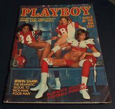 PLAYBOY -  September, 1977 Playmate DEBRA JO FONDREN & Girls of the Big 10 NUDE