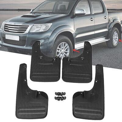Car Front Rear Mud Flaps Splash Guards Mudguards For Toyota Hilux Vigo 2006-2014