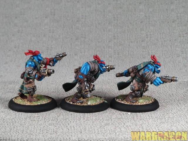 40mm Hordes WDS painted Trollbloods Trollkin Trollkin Trollkin Highwaymen r93 759eea