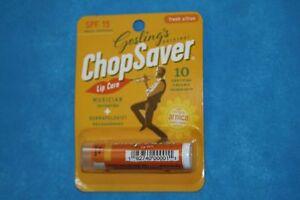 Chop Saver, Gold SPF15 Lip Balm, .15 ounce, Blister Carded, MPN CHPS