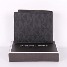 b6c321e24a75 item 1 NWT Michael Kors Jet Set Mens Signature Billfold W  Coin Pocket  Wallet in Box -NWT Michael Kors Jet Set Mens Signature Billfold W  Coin  Pocket Wallet ...