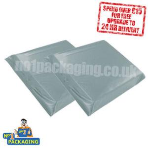 5000-8-5-034-x-14-034-Grey-216mm-x-360mm-Plastic-Mailing-Packing-Posting-Bags-Sacks