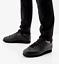 Nike-Classic-Cortez-Entrenadores-De-Cuero-Retro-TRIPLE-NEGRO-UK-Size-7-5-EUR-42 miniatura 1
