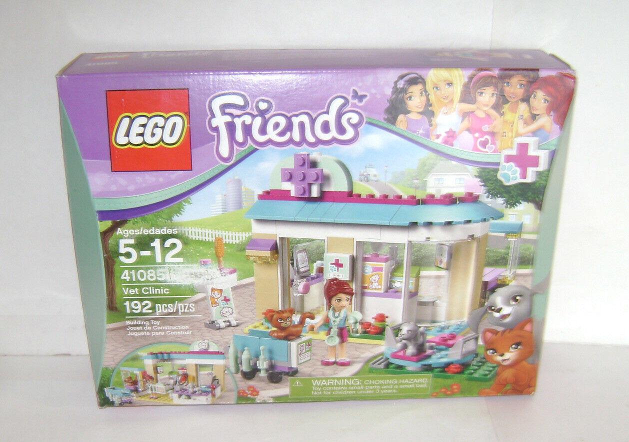 nuovo 41085 Lego  FRIENDS Vet Clinic costruzione giocattolo SEALED scatola RETIrosso A  vendita outlet online