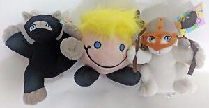 KITTENS-amp-BLODE-BUNDLE-A-Ninja-Kitten-a-Viking-Kitten-and-a-BLODE-plushie