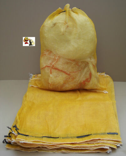 sac a patate lot de 100 filets 52 x 72 cm + de 50 kg de charge