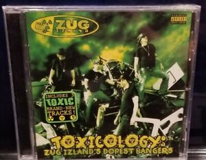 Zug Izland - Toxicology CD SEALED insane clown posse Vioent J psychopathic icp