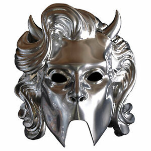 Ghost! Chrome Nameless Ghoulette Silver Halloween Cosplay Costume Women's Mask