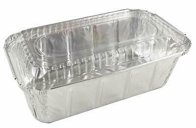 Handi-Foil 1 1//2 lb Disposable Bread Baking Tin Aluminum Foil Loaf Pan 100//Pk Pack of 100