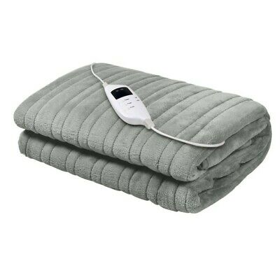 Heated Electric Blanket Throw Rug