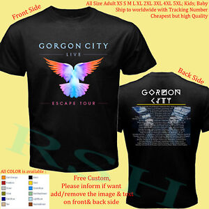 GORGON-CITY-TOUR-2018-2019-Concert-Album-Shirt-Size-Adult-S-5XL-Kids-Infants